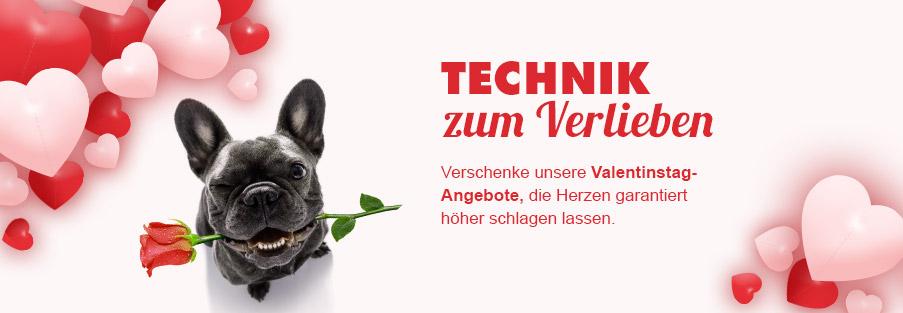 Technik zum Verlieben: EURONICS Valentinstag-Angebote, die Herzen garantiert höher schlagen lassen.