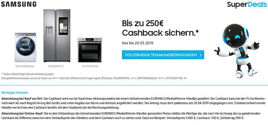 Sichern Sie sich jetzt bis zu 250 Euro
