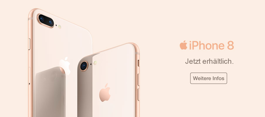 Jetzt das neue Apple iPhone 8 vorbestellen!